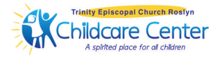 Logo for the Childcare Center at Trinity Episcopal Church