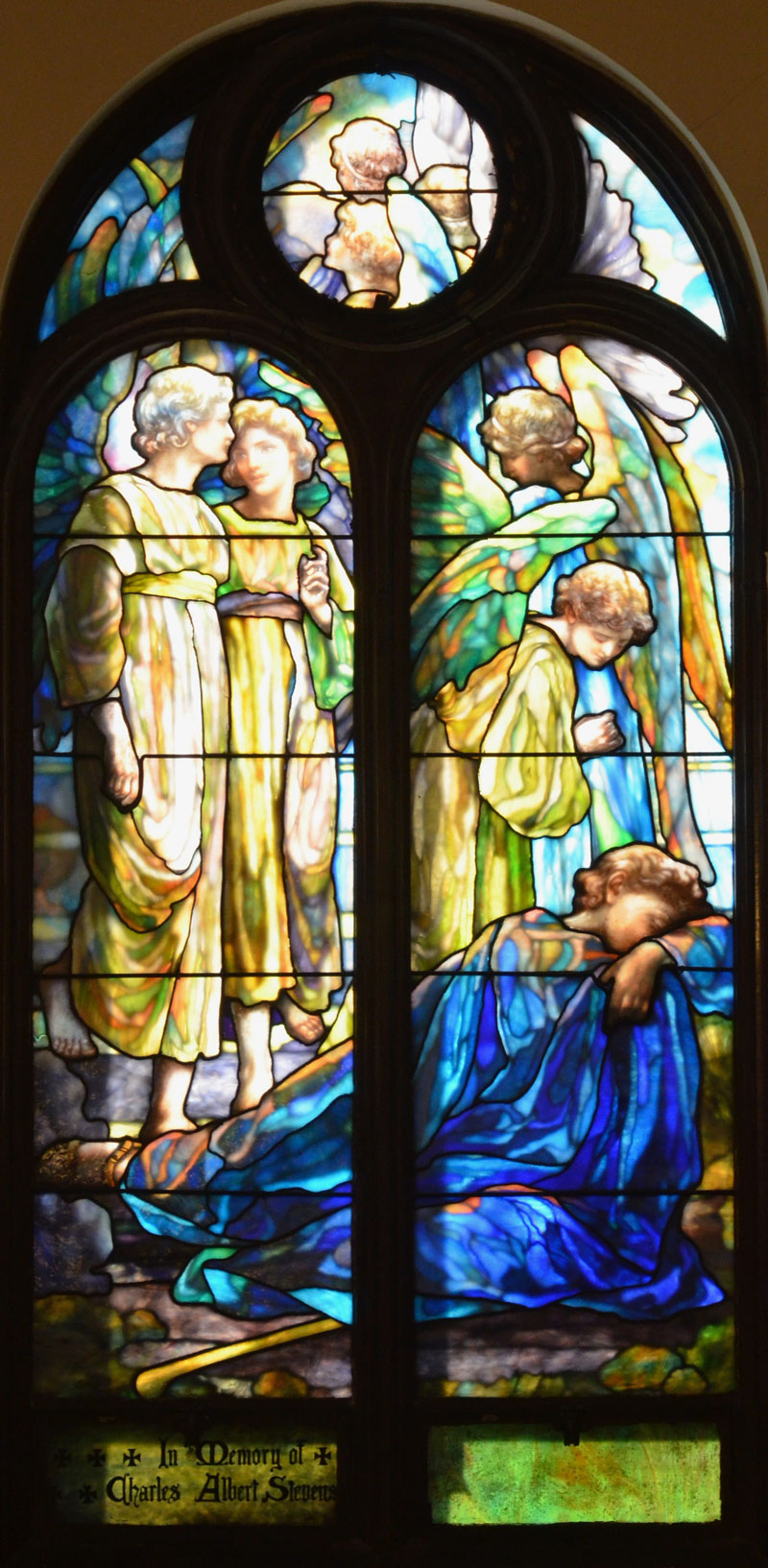 Jacob's Dream by Louis Comfort Tiffany